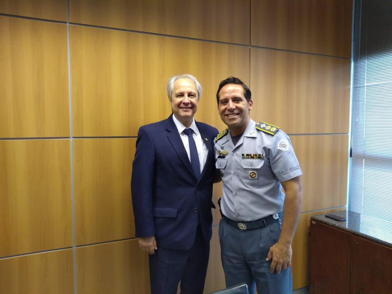 Subsecretário da Casa Militar realiza visita ao Procurador-Chefe do Ministério Público do Trabalho da 2ª Região